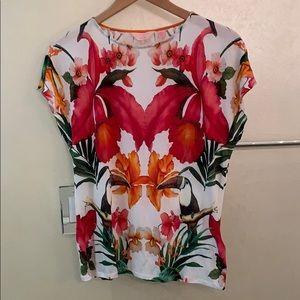 Ted Baker floral t shirt